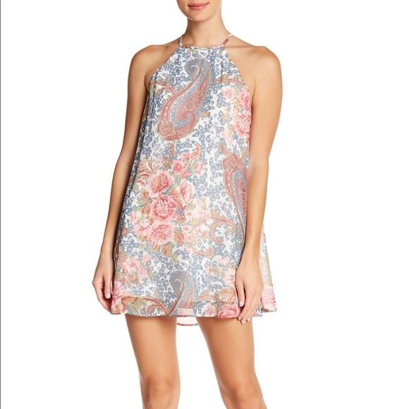 Show Me Your MuMu Dresses & Skirts - Show Me Your Mumu Gomez paisley halter mini dress